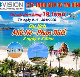 Chạy doanh số KBVISION du lịch Phan Thiết